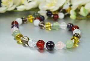 Beautiful-Colorful-Necklace-made-of-various-gemstones-in-Ball-Shape-D-10mm