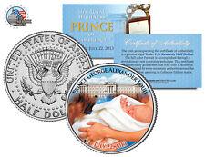 ROYAL BABY *PRINCE GEORGE of CAMBRIDGE* BORN JULY 22, 2013 JFK HALF DOLLAR COIN!