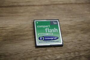 carte memoire cf compact flash 1go integral