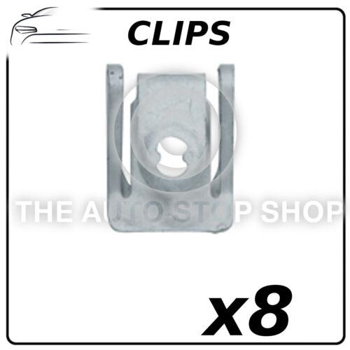 Clips-capotage gamme AUDI A1-A6 numéro de pièce 11964 Pack de 8 dans sac en plastique