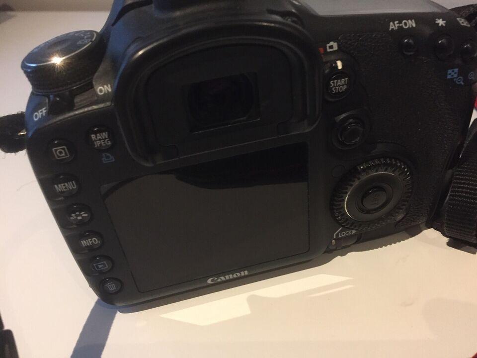 Canon, Canon Eos 7D, spejlrefleks