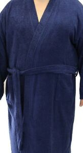 Espionage Towelling Dressing Gown Robe For Big Men 2xl 3xl 4xl 5xl 6xl