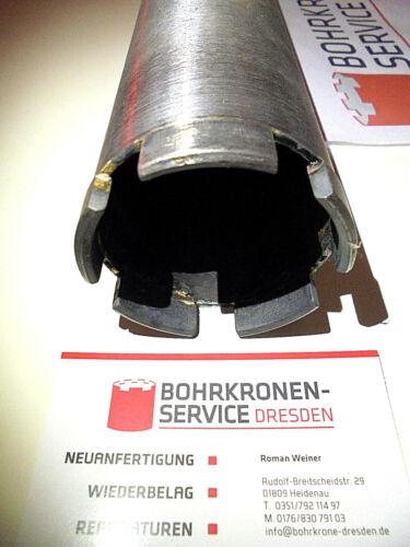 DIAMANTBOHRKRONE KERNBOHRER 60 Ø 62mm  m 5 neuen Premium-DACH-Segmenten NEU