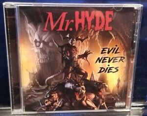 Mr. Hyde - Evil Never Dies CD horrorcore necro psycho+logical records undergound