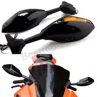 Motorcycle Led Turn Signal Mirrors For Kawasaki Ninja 500r Zx6r 636 Zx7r Zx9r Us