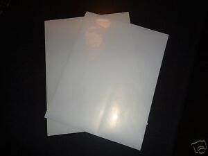 image is loading clear sticker paper 11x8 5 inkjet printer label