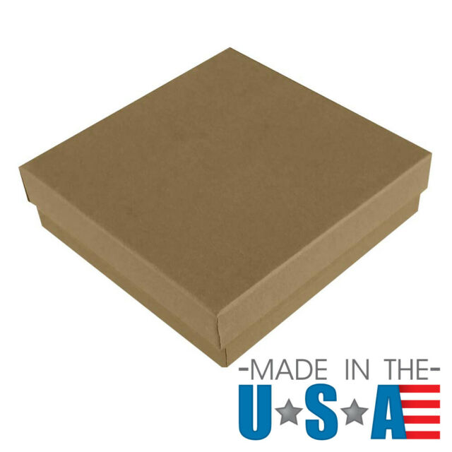 Kraft Brown 200-Count Gift Or Favor Box
