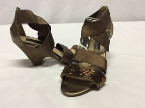 130da5b7ca22 Image is loading Steve-Madden-CARLIT-Women-s-Heels-Sandals-Bronze-