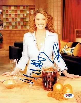In Smart Michelle Bernstein Signed Authentic Autographed 8x10 Photo Psa/dna #v26944 Novel Design;