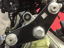 Efecto de fibra de carbono cubierta yugo para adaptarse a Honda VFR750R-RC30