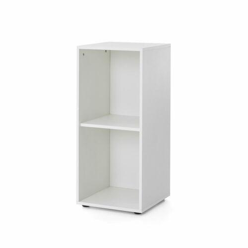 AKTENREGAL Standregal Regal 38 cm breit Büroregal Bücherregal Bücherwand Weiß