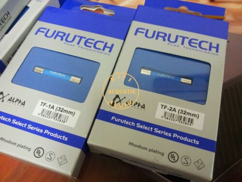 1x HIFI TF Furutech Fuse Rhodium Plated 5x20mm 1A Fuses high end audio