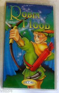 ROBIN-HOOD-VHS-Sigillata-LEGOCART-CARTOON