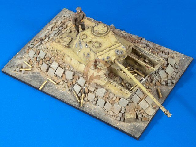 Verlinden 1 35  Pantherturm  Panther Dug-In Bunker Battle of Berlin Diorama 2767