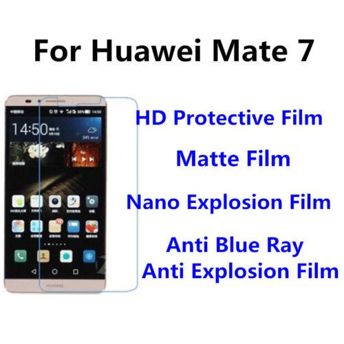 alto claro ULTRAFINA película 3 un para HUAWEI MATE 7 buen Touch Pantalla Mate