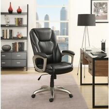 Serta 45135 Wellness By Design Executive Leather Office Chair Black