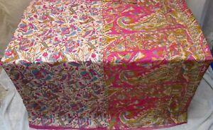 Cream-Rani-Pure-Silk-4-yard-Vintage-Sari-Saree-Pattern-Patterns-spring-UK-F84IP