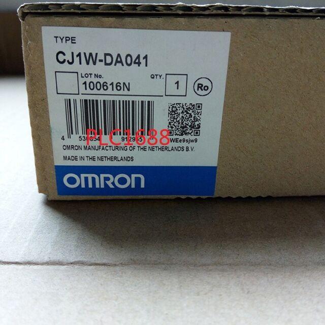 New in box CJ1WDA041 OMRON D//A Unit PLC CJ1W-DA041