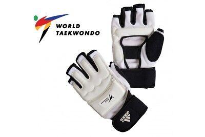 WTF Style Taekwondo Fighter Gloves Blitz Sport Viper Sparring Gloves White