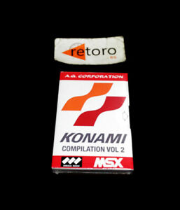 KONAMI-COMPILATION-VOL-2-Cartridge-MSX-MSX2-MegaRom-New-Nuevo