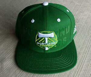 7bf7c0ae8fc New Adidas Portland Timbers Snapback Hat Cap Army RCTID Borchers MLS ...