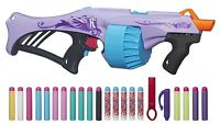 Nerf Gun Rebelle Fearless Fire Blaster Shooter Xmas Gift Toy Girls + 20 Darts