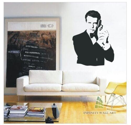 PD247 Movie Wall Sticker Decal Top Design 007 Wall Art Sticker