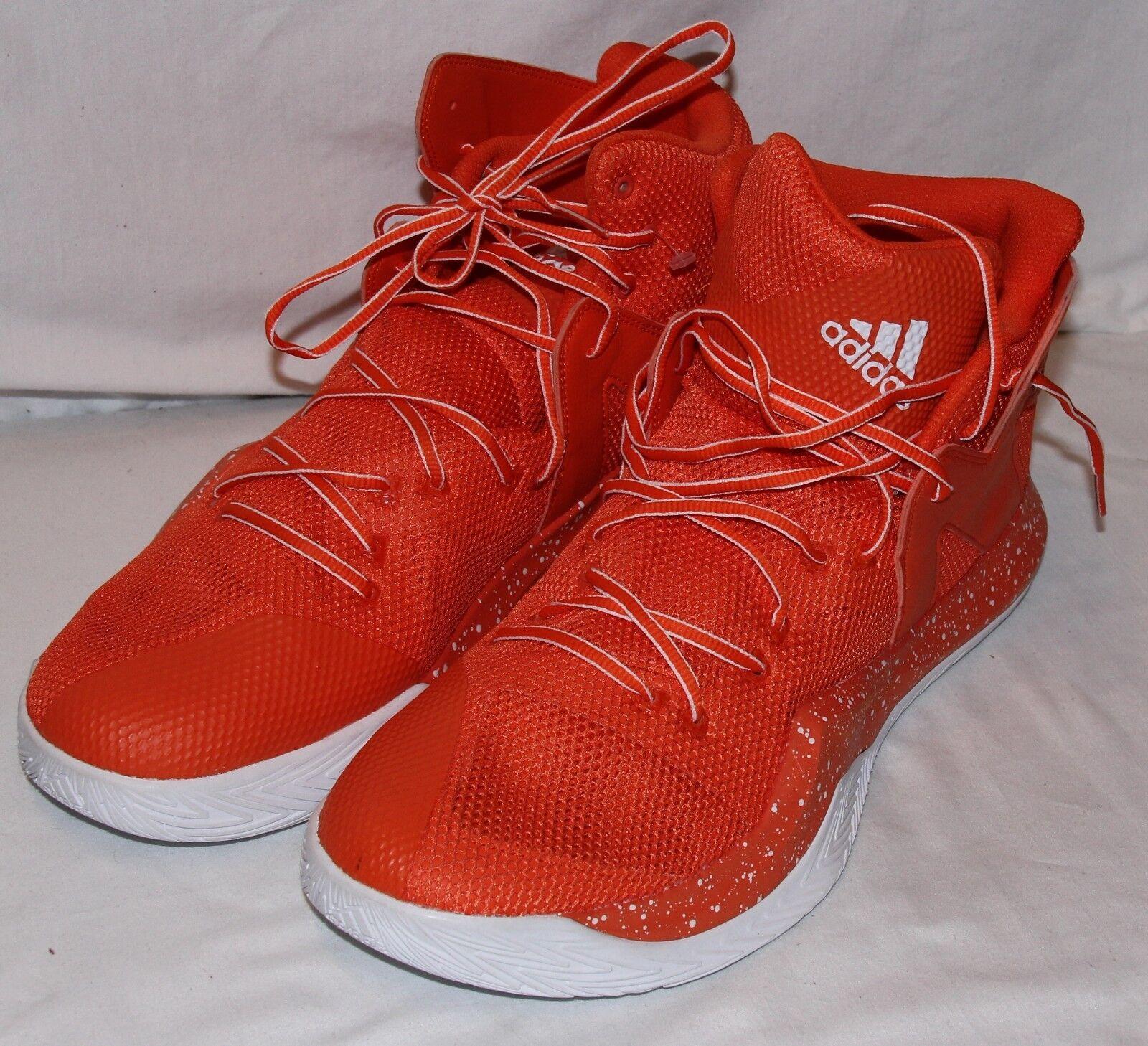 Adidas New New Adidas Uomo Uomo Uomo arancia bianca Basketball Scarpe Scarpe da   38a9cc