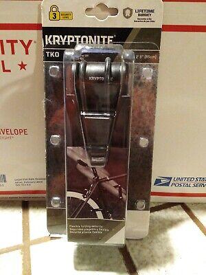 Bicycle Lock New Kryptonite TKO Folding Lock 100 security level 3 bike secure