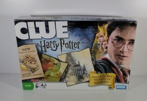 Clue-Harry-Potter-Board-Game-Hasbro-2008-100-Complete
