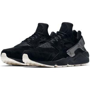 newest 51512 887fa A imagem está carregando Nike-Masculino-Air-Huarache -Run-Premium-Novo-Autentico-