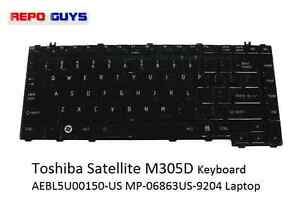 New for Toshiba Satellite C655 C650D L650 L655  Keyboard 9Z.N4WSU.001 NSK-TN0SU