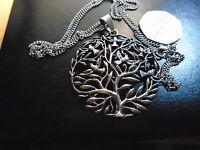 Medallion Size Celtic Tree Of Life Exquisite 2.5 Pendant Gothic Jewelry...
