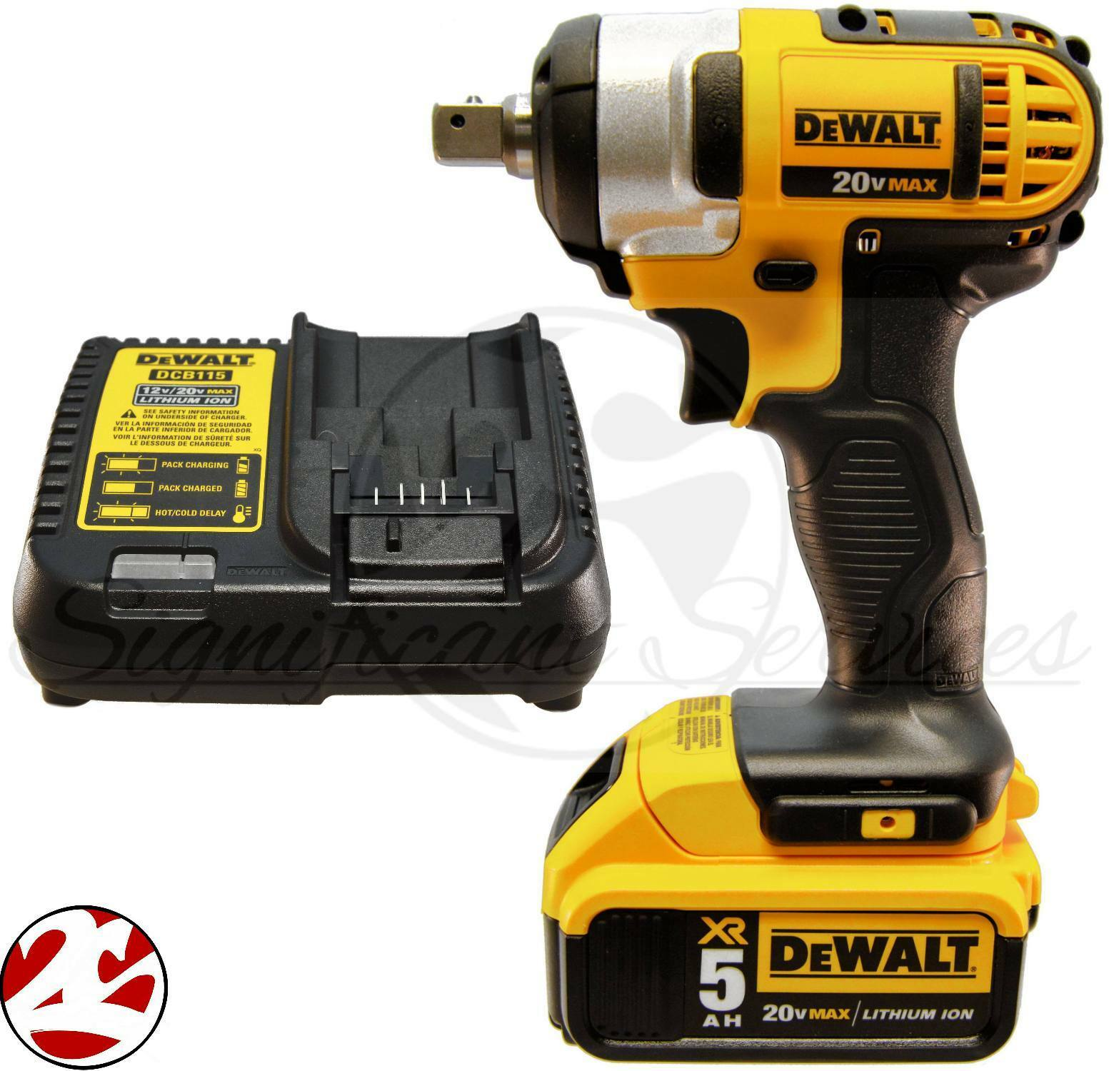 NEW DeWALT DCF880 20V 20 Volt MAX 5.0 Ah Battery Cordless 1/2