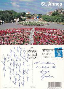 1993 PROMENADE GARDENS St ANNES ON SEA LANCASHIRE COLOUR POSTCARD - Weston Super Mare, Somerset, United Kingdom - 1993 PROMENADE GARDENS St ANNES ON SEA LANCASHIRE COLOUR POSTCARD - Weston Super Mare, Somerset, United Kingdom