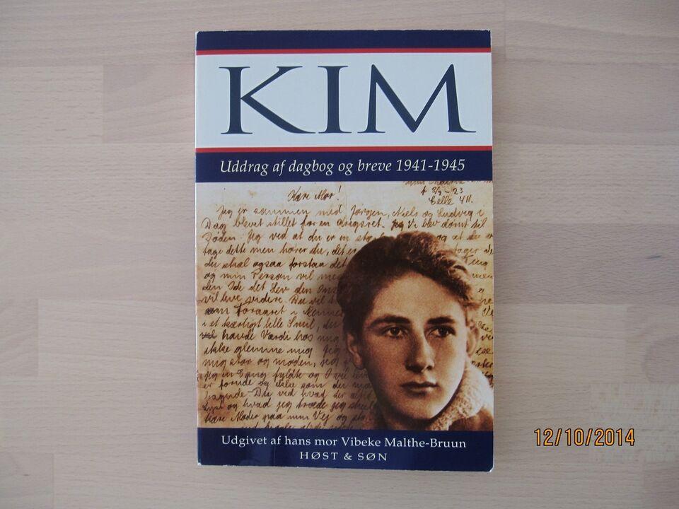Kim – Uddrag af dagbog og breve 1941 – 1945, Vibeke