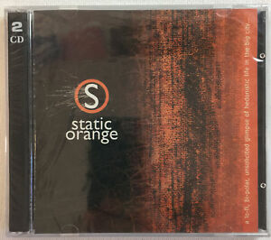 STATIC-ORANGE-compilation-CD-SEALED-two-discs-1990s-Dallas-Ft-Worth-Texas
