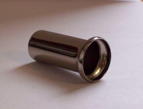 "2/"" NICKEL FINISH LAMP NECK 1//8IP SLIP LAMP PART NEW 50328J"