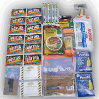 17 Piece Deluxe 2 Person Shelter Survival & Camping Kit