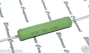 BC PAC05 10R ohm 5W 1/% Cemented Wirewound Resistor 1pcs Vishay
