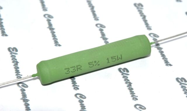 1pcs - Vishay(BC) AC15 470R (470 ohm) 15W 5% Cemented Wirewound Resistor