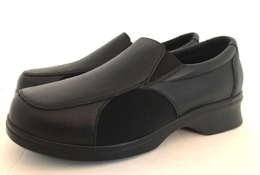"""risparmia fino al 70% di sconto Pedors Pedors Pedors """"lets Walk"""" Oxford Confort Orthopedic scarpe Sz 10 XW nero Leather     D  grandi risparmi"""