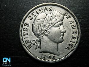 1906-P-Barber-Dime-MAKE-US-AN-OFFER-B8941