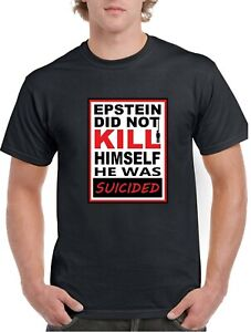 Epstein-Didn-039-t-Kill-Himself-He-Was-Suicided-by-Keystone-420-Black-T-Shirt