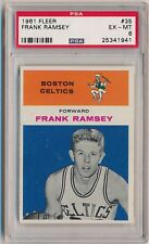 1961 Fleer Frank Ramsey #35 Basketball Card