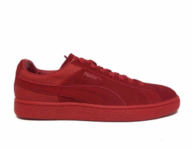 c97ee8eccb37 PUMA Suede Classic Casual Emboss 36137203 Barbados Cherry Leather ...