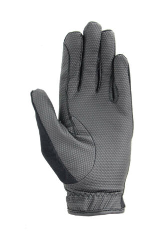 Hy Hy5 Adults Smart Adjustable Pro Grip Competition Gloves Black// Brown XS-XL