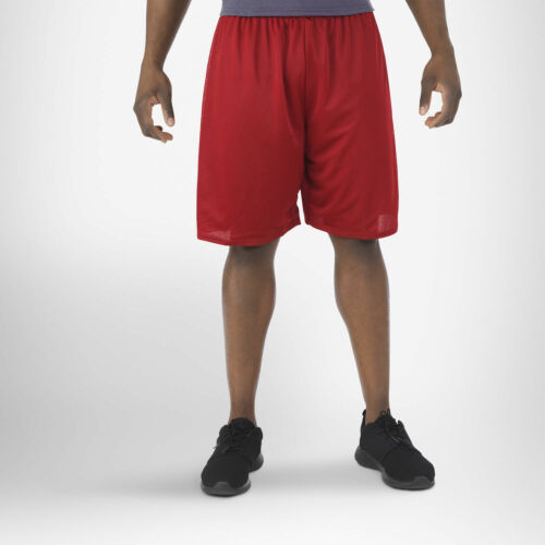 Men/'s S-XL 2X 3XL Mesh Shorts Gym Russell Athletic Basketball Soccer Rugby