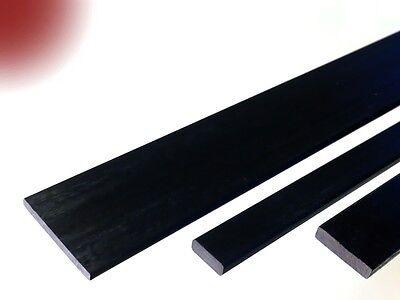 Carbon-Vierkant-Stab 3.0x12.5 x 1000 mm Rechteck Flach Stab CFK Carbonstab