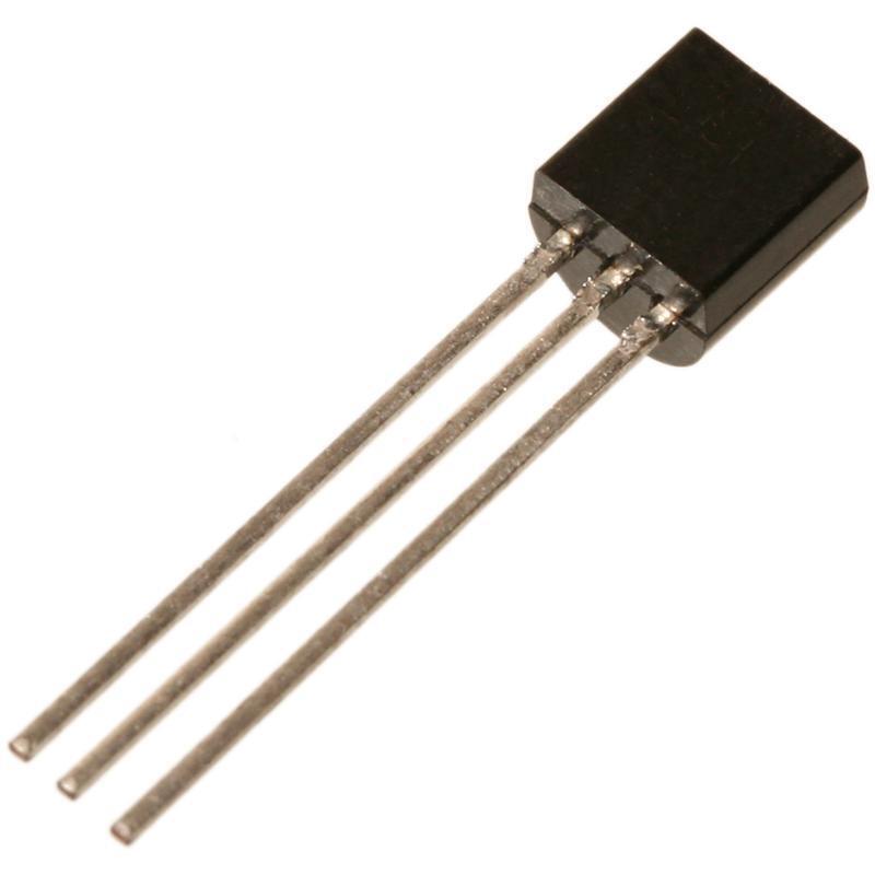 BC546B Transistor npn 65V 100mA 500mW TO92 von Taiwan Taiwan Taiwan Semiconductor 27ccee